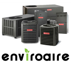 Enviroaire air conditioning and heating equipment