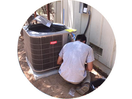 air conditioner repair in Tracy, California
