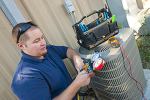 Turlock air conditioner repair specialist checks Freon levels