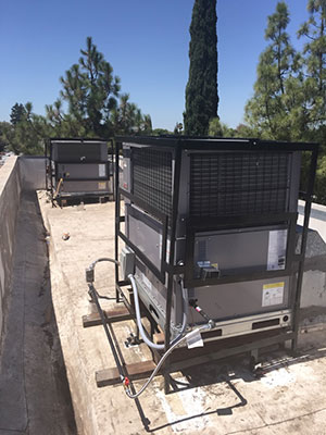 3 ton packaged air conditioner installation in Modesto, CA