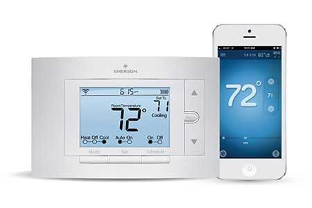 The Emerson Sensi Wifi Thermostat