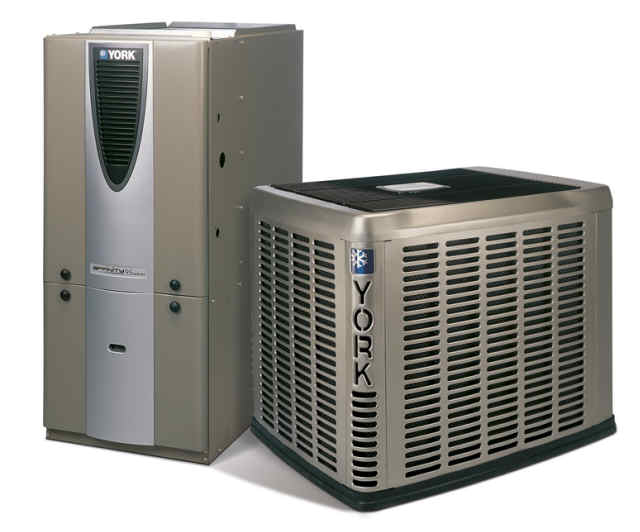 our heating and AC repairs in Lathrop team can install York products