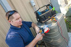 Turlock air conditioner repair professional checks freon levels