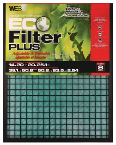 WEB eco filter plus - a great air filter for allergies