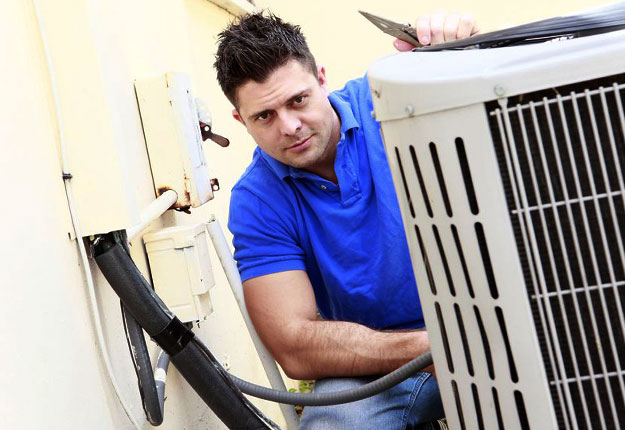 In the middle of an air conditioning repair scam in Tracy California