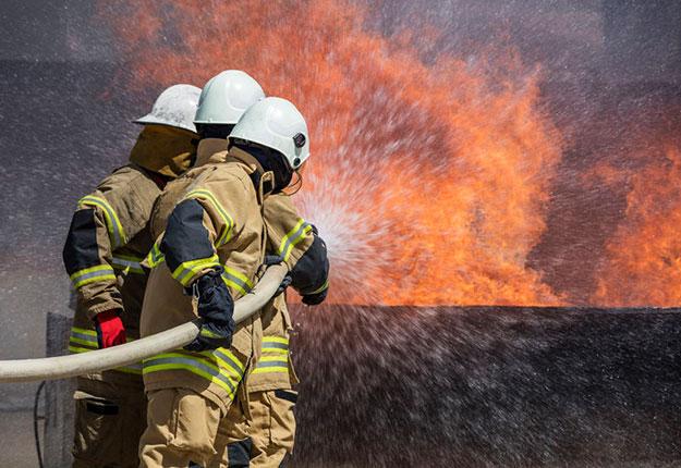 Firefighters combat HVAC fire in Modesto