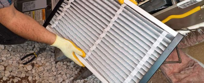 hvac air filter change