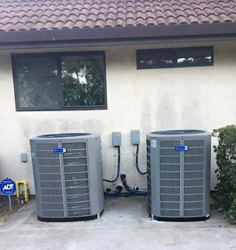 new AC units installed in Salida