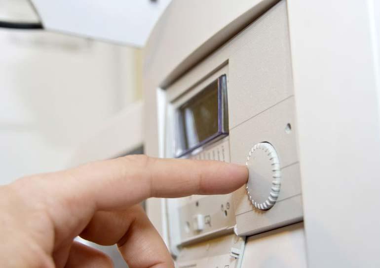 thermostat setting temperature