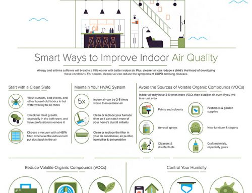 Smart Ways to Improve Indoor Air Quality [Infographic]
