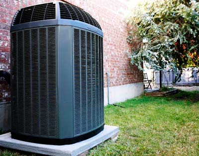 an AC unit installed in Oakdale