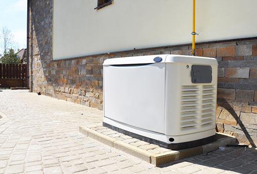 one of our backup generators of choice